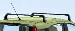 Barre portatutto in alluminio per tetto per Fiat Panda
