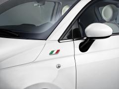 Badge bandiera italiana su parafango per Fiat 500