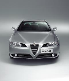 Griglia centrale su paraurti anteriore per Alfa Romeo 166