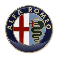 Fregio Alfa Romeo anteriore e posteriore per Alfa Romeo
