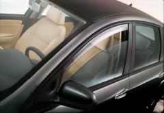 Deflettori antiturbolenza anteriori per finestrini per Fiat Croma