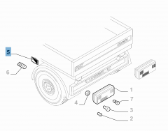 Indicatore di posizione su cassone per Fiat e Fiat Professional