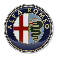 Fregio Alfa Romeo posteriore per Alfa Romeo 159