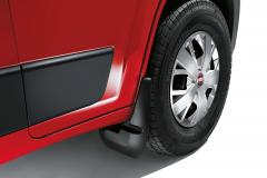 Paraspruzzi anteriori in gomma per Fiat Professional Ducato