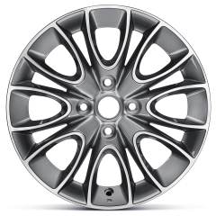 Cerchio in lega 6J x 15'' ET43 per Fiat e Fiat Professional