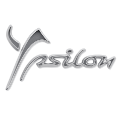 Sigla modello Ypsilon posteriore per Lancia Ypsilon