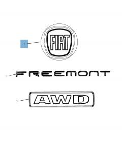 Sigla modello Fiat per Fiat Freemont