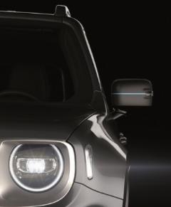 Adesivi calotte specchietti per Jeep Renegade 4xe