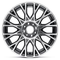 Cerchio in lega 6.5J x 16'' ET35 per Fiat 500