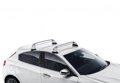 Barre portatutto in alluminio per tetto per Alfa Romeo Giulietta