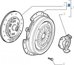 Kit frizione (disco e spingidisco) per Alfa Romeo