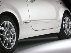 Fasce paracolpi protezioni laterali per Fiat 500