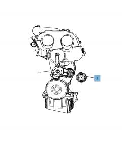 Tendicinghia fisso per Jeep Compass/Patriot