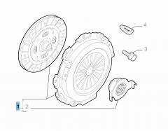 Kit frizione (disco e spingidisco)