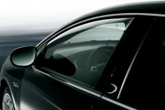 Deflettori antiturbolenza anteriori per finestrini per Lancia Delta