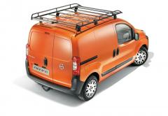 Barre portatutto in acciaio per tetto furgone