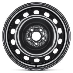 Cerchio in acciaio da 6J x 16'' H2 ET36.5 per Fiat e Fiat Professional