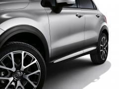 Finiture laterali bianche per portiere per Fiat 500X