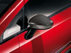 Calotte specchietti carbon look per Fiat