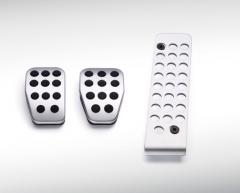Pedaliera sportiva in alluminio per cambio manuale
