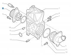 Pompa acqua per Fiat e Fiat Professional