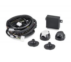 Cablaggio elettrico per gancio traino 7/13 poli per Fiat e Fiat Professional Qubo