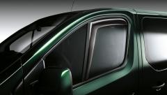 Deflettori aria per finestrini anteriori per Fiat Professional Talento