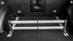 Barra telescopica per organizer bagagliaio