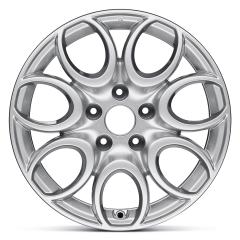 Cerchio in lega 7J x 16'' H2 ET41 per Alfa Romeo Giulietta