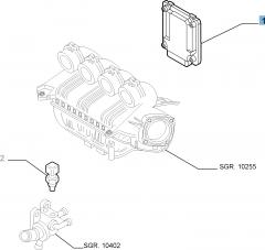 Centralina Iniezione per Alfa Romeo GT (2003-2010) - 2.0 CC JTS Progression e Distinctive