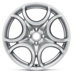 Cerchio in lega 7J x 17'' H2 ET39 per Alfa Romeo Mito