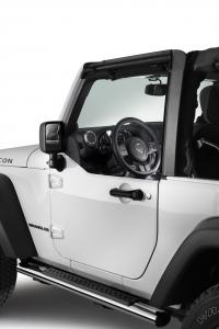 Mezze porte anteriori per Jeep JK Wrangler