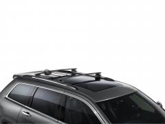 Barre portatutto in alluminio per tetto auto per Jeep Grand Cherokee