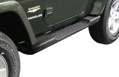 Kit predellini pedane laterali sottoporta per Jeep Wrangler