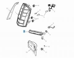 Fanale posteriore per Lancia Thema