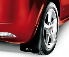 Paraspruzzi posteriori in gomma per Fiat