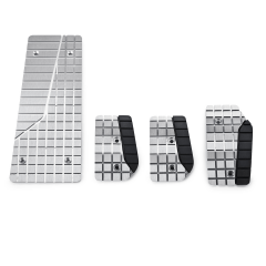 Pedaliera sportiva in alluminio per Fiat