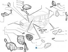 Indicatore di direzione laterale per Fiat e Fiat Professional
