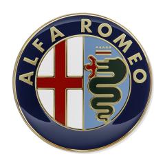 Fregio Alfa Romeo portiera posteriore per Alfa Romeo