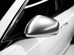 Calotte specchietti cromo satinato per Alfa Romeo
