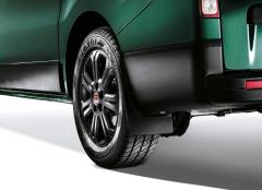 Paraspruzzi posteriori in granulato poliuretanico per Fiat Professional Talento