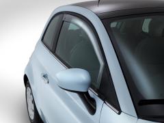 Deflettori anteriori per finestrini per Fiat 500
