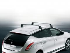 Barre portatutto in alluminio per tetto per Lancia Delta