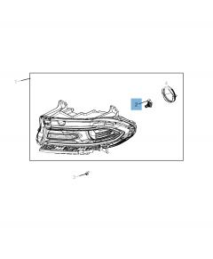 Lampadina proiettore anteriore per Jeep Compass