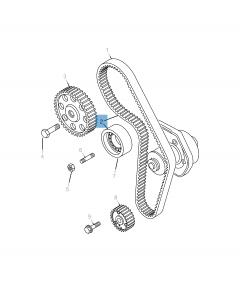 Kit Distribuzione (cinghia, tendicighia fisso e regolabile) - 3 pz per Jeep Compass