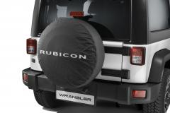 Copri ruota di scorta con logo Rubicon