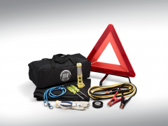 Kit emergenza con logo Fiat per 124 Fiat Spider