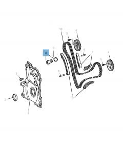 Tendicinghia regolabile per catena di distribuzione per Jeep