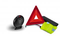 Kit sicurezza con triangolo e gilet catarifrangente per Fiat Professional Talento