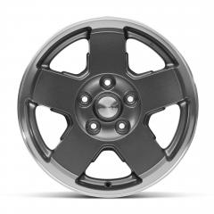 Cerchio in lega da 17'' in alluminio verniciato